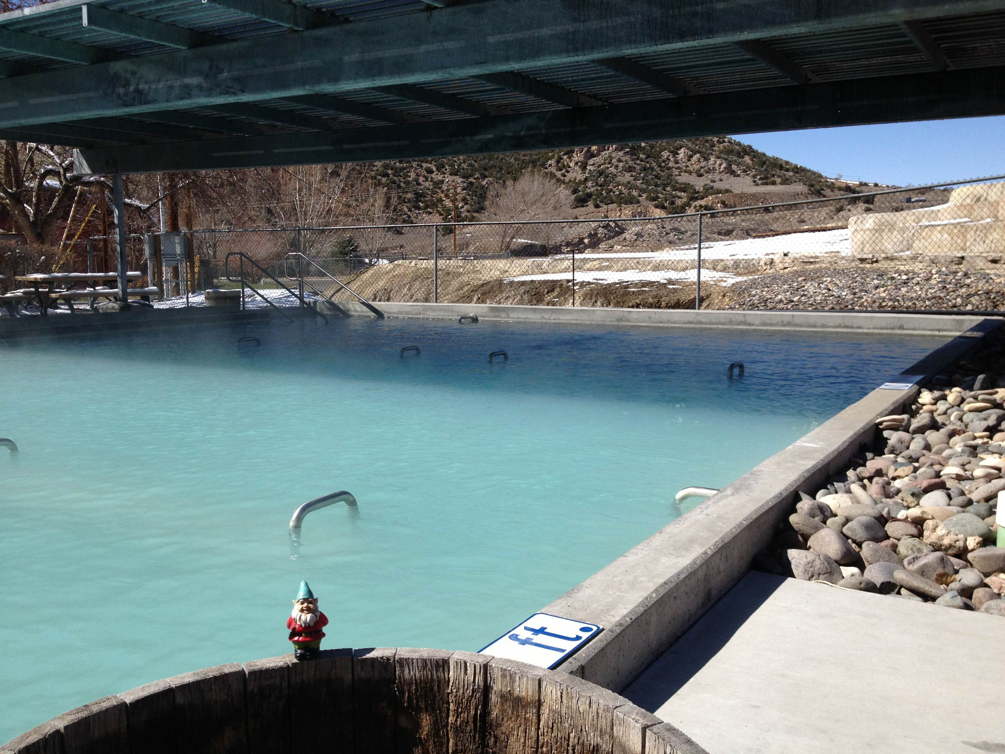 Wyoming hot springs town of Thermopolis offers soaking