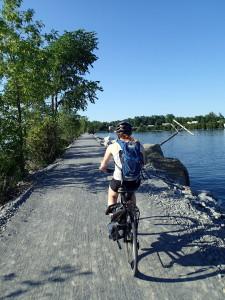 The return bike ride