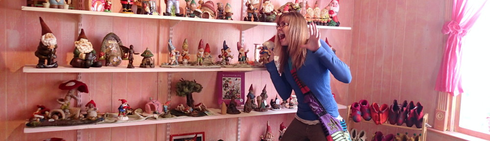 Freaking out at all the gnomes up for adoption