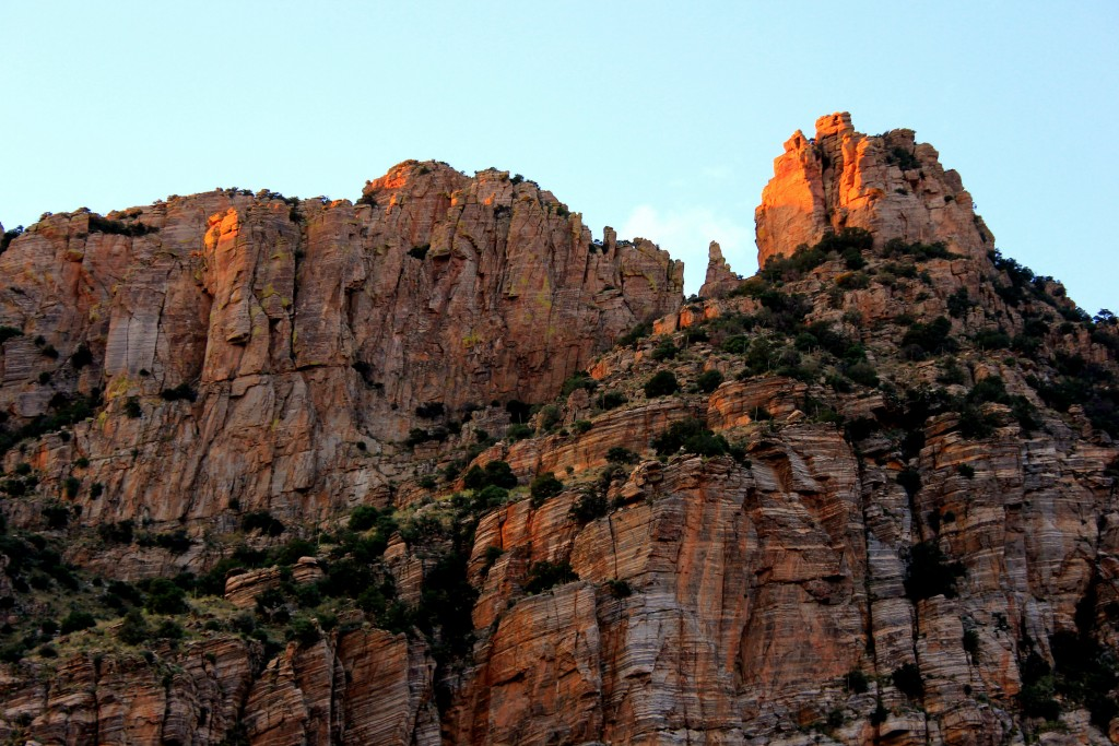 Finger Rock - alpenglow