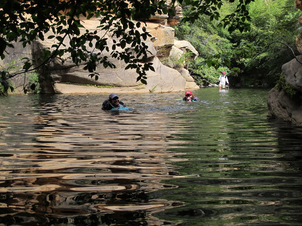Wet Beaver Creek - swimming