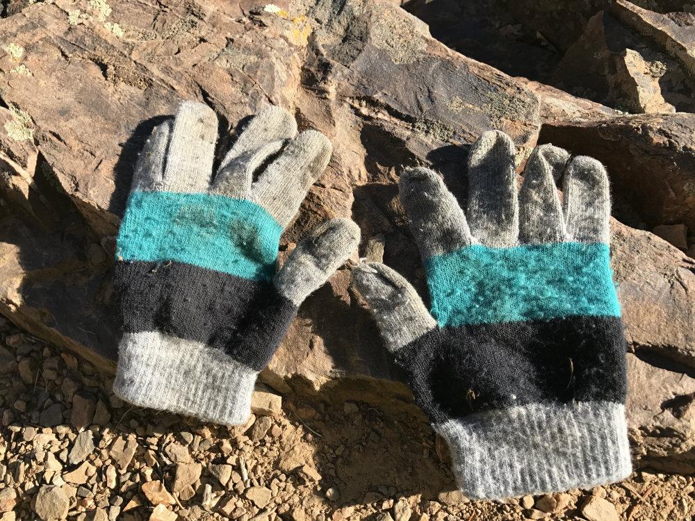 Crappy gloves = love